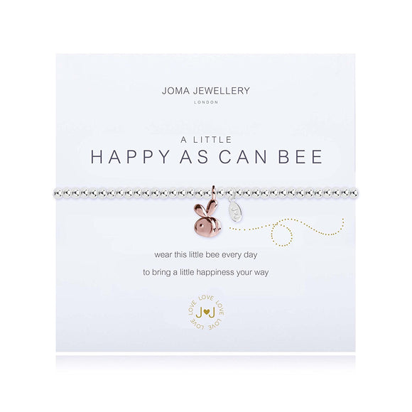 A Little Happy as can Bee Bracelet By Joma Jewellery - Gifteasy Online