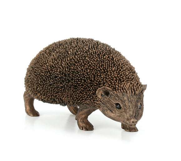 New Frith wildlife Sculpture - SNUFFLES the HEDGEHOG by Thomas Meadows - TM043 - Gifteasy Online