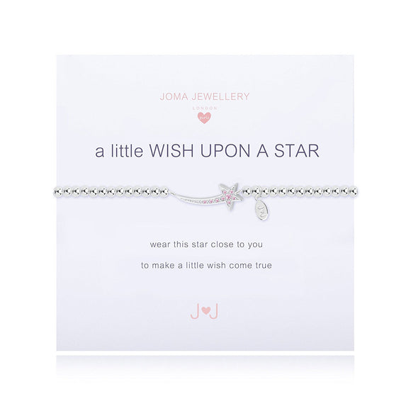 gifteasyonline - A Little Wish Upon A Star Girls Bracelet By Joma Jewellery - Joma Jewellery - Joma Jewellery