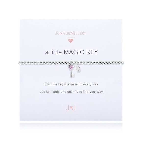 Joma Jewellery Childrens a little Magic Key bracelet