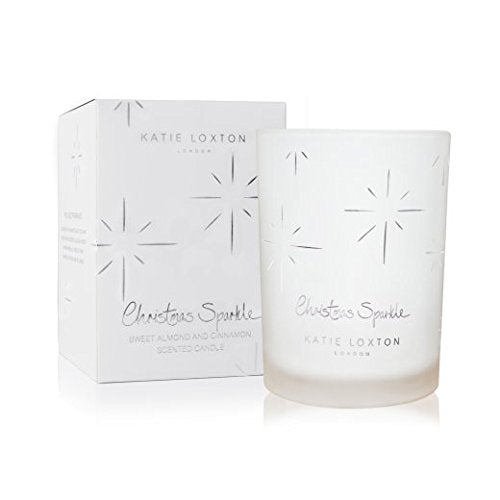 Katie Loxton - Candle - Christmas Sparkle - Sweet Almond and Cinnamon