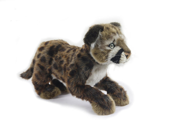 Standing Cougar Cub Plush Soft Toy by Hansa 6953 25 centimetre