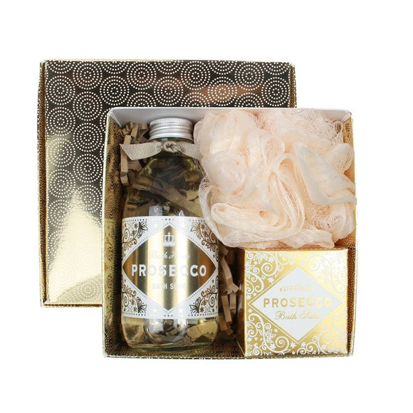 gifteasyonline - bath house prosecco bathe gift box - Bath House - Bath House