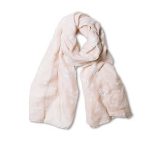 Katie Loxton - Scarf - Imagine and Inspire - Pale Pink