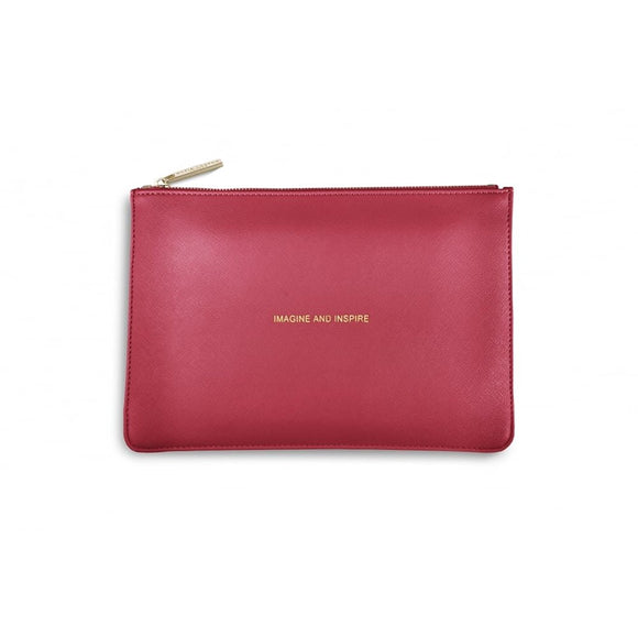 gifteasyonline - Katie Loxton - The Perfect Pouch - Imagine and Inspire - Metallic Watermelon - Katie Loxton - Katie Loxton