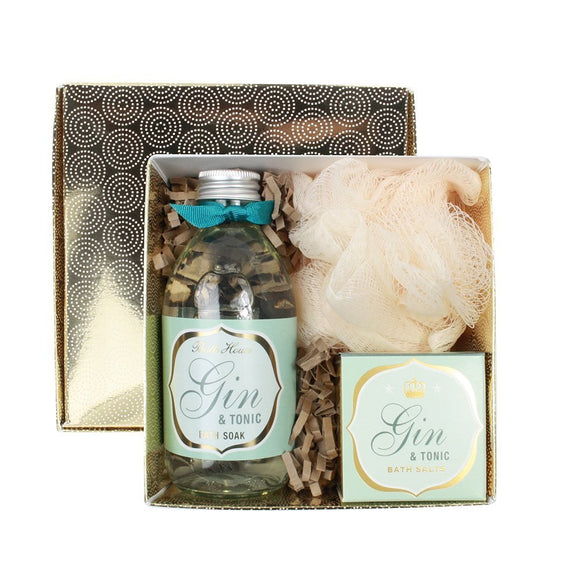 gifteasyonline - bath house gin & tonic bathe gift box - Bath House - Bath House