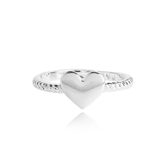 Joma Jewellery Silver Hope Ring - Gifteasy Online