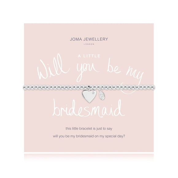 gifteasyonline - A Little Will You Be My Bridesmaid Bracelet By Joma Jewellery - Joma Jewellery - Bracelet
