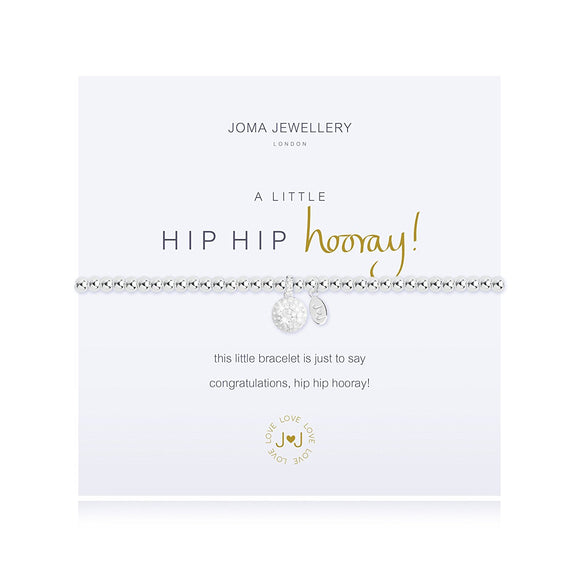 Joma Jewellery a little Hip Hip Hooray! bracelet