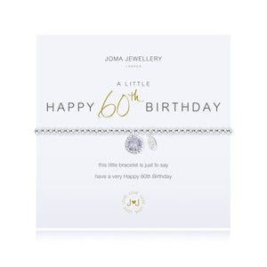 A Little 60th Birthday Bracelet By Joma Jewellery - Gifteasy Online