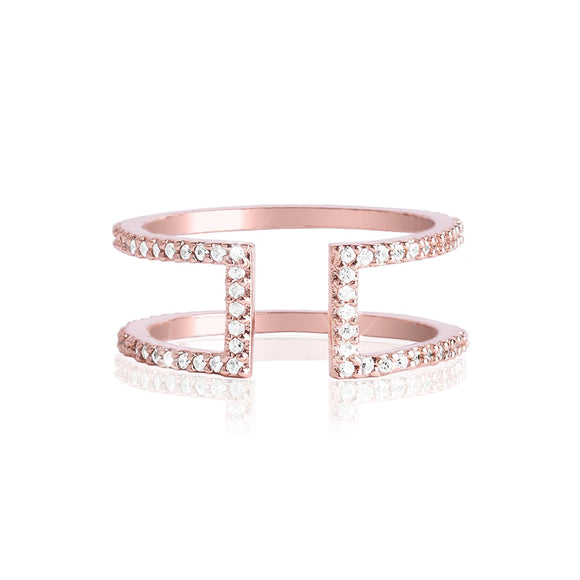 Wonder Rose Gold Ring