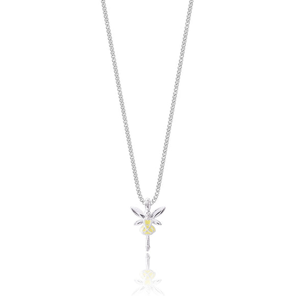 gifteasyonline - Joma Jewellery Girls Buttercup Enamelled Fairy Necklace - Joma Jewellery - Joma Jewellery