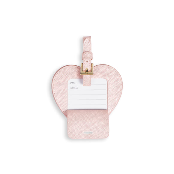 gifteasyonline - Katie Loxton BABY LUGGAGE TAG - LITTLE ONE - metallic pink - 8x8.2cm - Katie Loxton - Baby