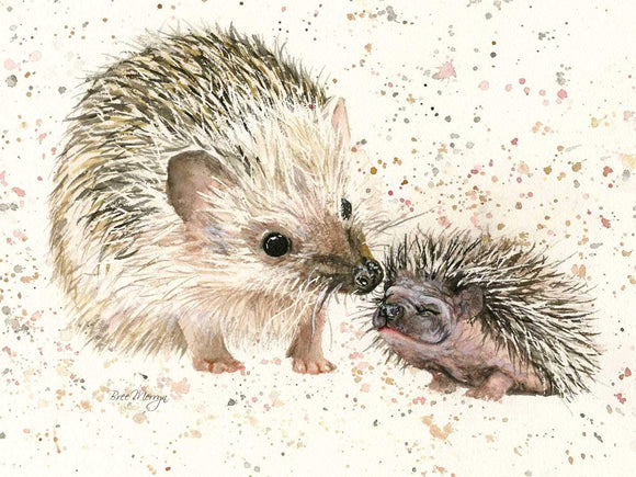 Bree Merryn Branston & Prickle Hedgehogs Canvas Cutie