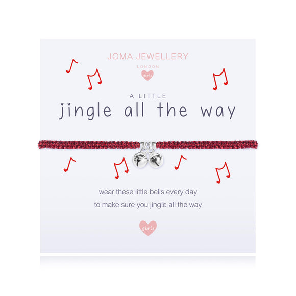 Joma Jewellery A little - JINGLE ALL THE WAY Girls Bracelet - Gifteasy Online