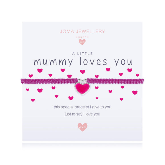 Joma Jewellery A little - MUMMY LOVES YOU - Gifteasy Online