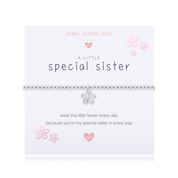Joma Jewellery A Little Special Sister Bracelet Girls