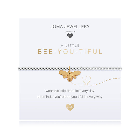 Joma Jewellery Girl's A little Bee You Ti Ful Bracelet