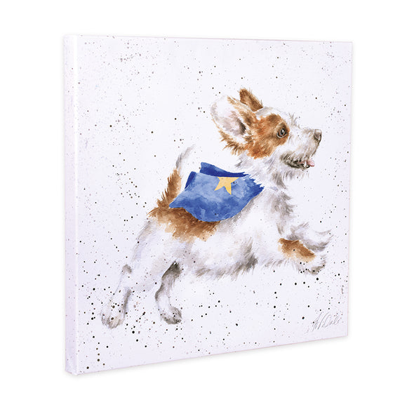 Wrendale 'Super Dog' Canvas