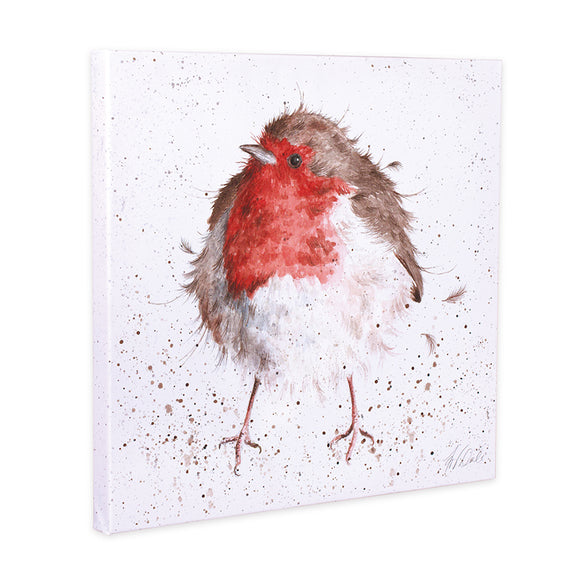 Wrendale ' The Jolly Robin' Canvas