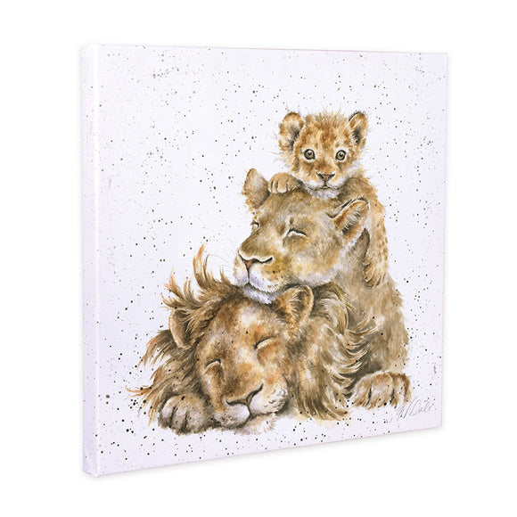 Wrendale 'Family Pride' Lion Canvas