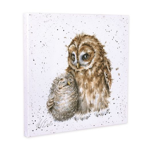 Wrendale Owl-Ways By Your Side Owl Canvas