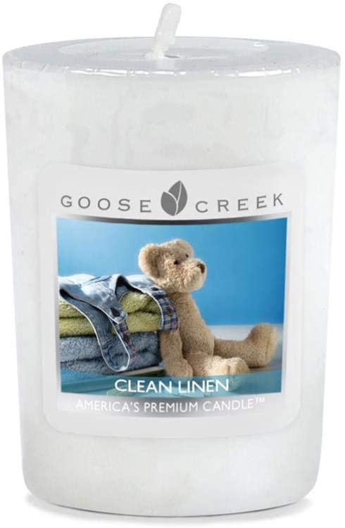 Aromatize Goose Creek Votive set of 4 Mini Clean Linen Candles