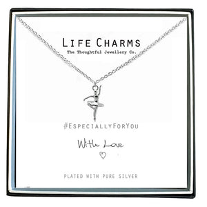 gifteasyonline - Life Charms Ballerina Necklace - Life Charms - Necklace