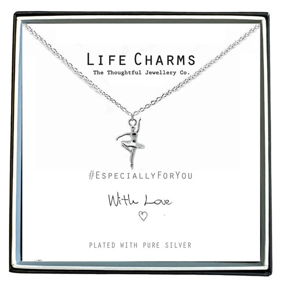 Life Charms Ballerina Necklace