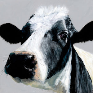 gifteasyonline - Box Canvas Print Colourful Elsie Cow 40cm x 40cm - Bree Merryn - Box Canvas