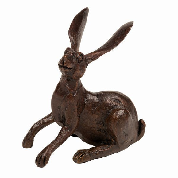 Frith Creative Bronze Solid Bronze Watchful Hare