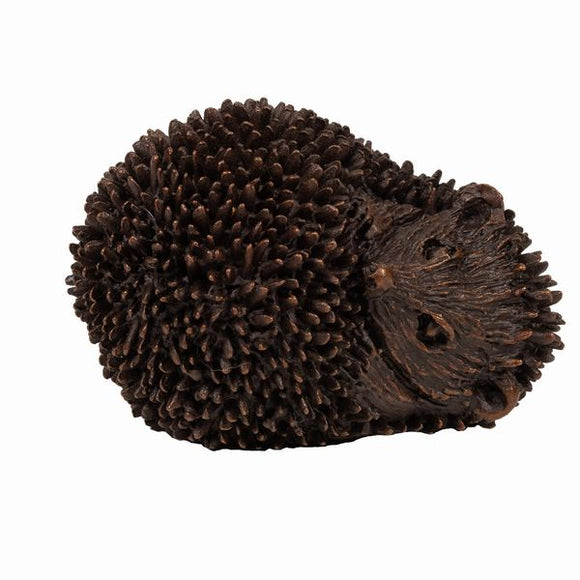 Frith Creative Bronze Solid Bronze Hedgehog Curled