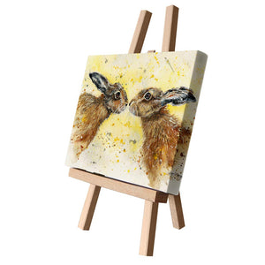gifteasyonline - Bree Merryn Hannah and Henry Hare Canvas Cutie - Bree Merryn - Canvas Cuties