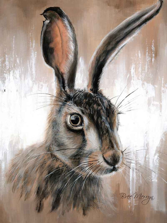 Canvas Cuties Hattie Hare Canvas 15 x 20cm Boxed