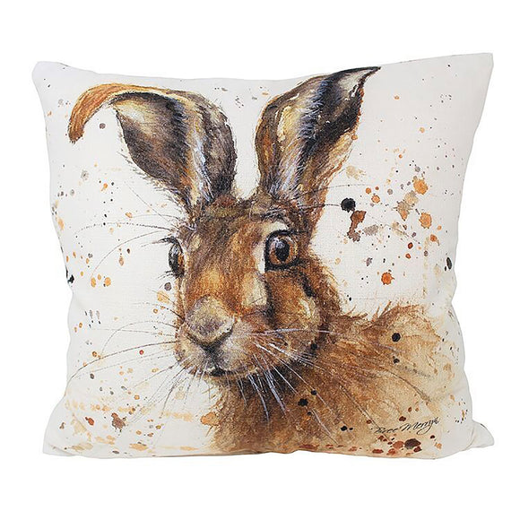 gifteasyonline - Luxury Hugh Hare Cushion 43cm x 43cm - Bree Merryn - Cushion