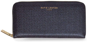gifteasyonline - Katie Loxton ALEXA PURSE large coin/card purse - blue shimmer - 10x20x2.5cm - Katie Loxton - Purse