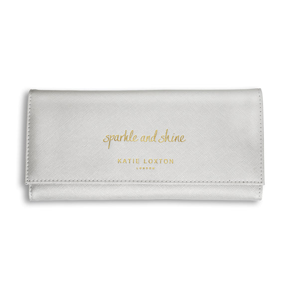 Katie Loxton  JEWELLERY ROLL - SPARKLE AND SHINE - metallic silver
