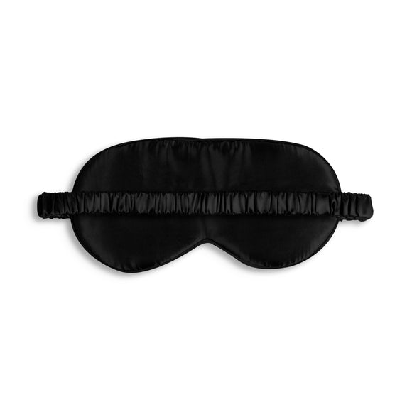 gifteasyonline - Katie Loxton SATIN EYE MASK - WAKE ME FOR CHAMPAGNE - black - 11x21.5cm - Katie Loxton - Eye mask