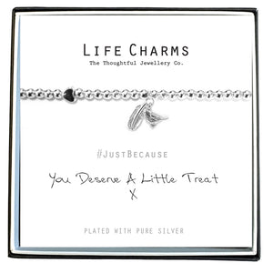 Life Charms You Deserve A Treat Bracelet