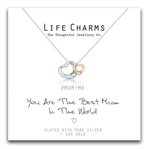Life Charms You Are The Best Mum in The World Necklace
