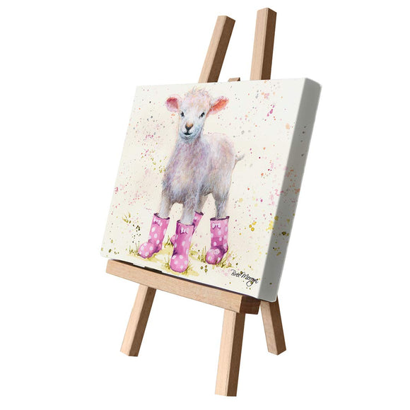 gifteasyonline - Bree Merryn Lottie Lamb Canvas Cutie - Bree Merryn - Canvas Cuties