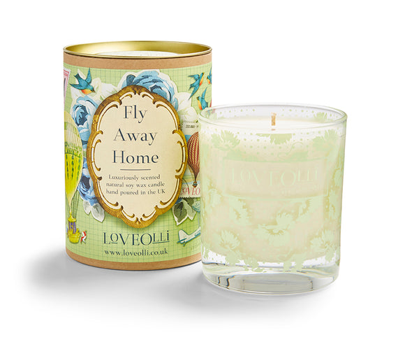 LoveOlli Scented Candle Fly Away Home