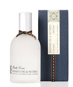 gifteasyonline - Bath House Spanish Fig & Nutmeg Mens Cologne 100ml - Bath House - Bath House