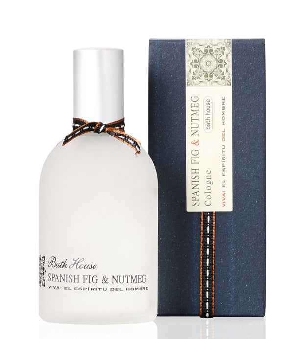 Bath House Spanish Fig & Nutmeg Mens Cologne 100ml