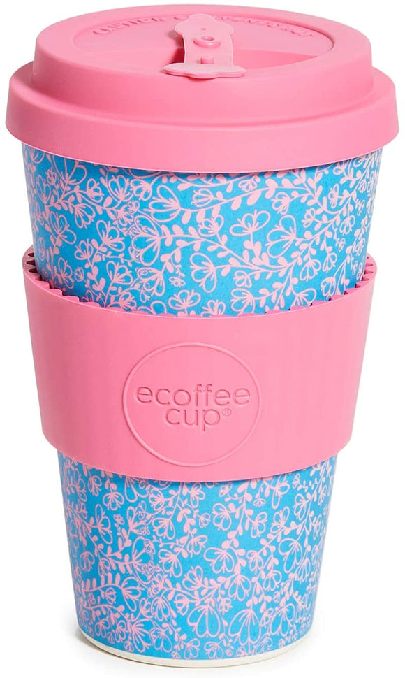 Ecoffee Cup: Miscoso Dolce with Pink Silicone 14oz - Gifteasy Online