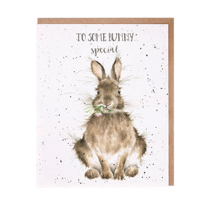 Wrendale 'Some Bunny' Special Card