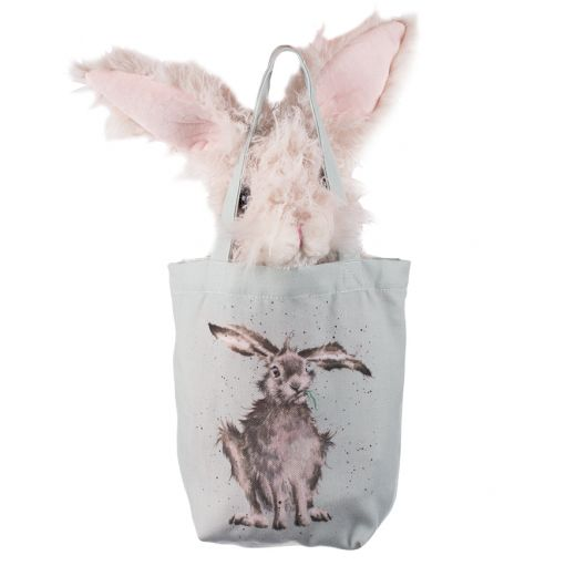 Wrendale 'Rowan Hare' Plush Toy in a Bag - Gifteasy Online