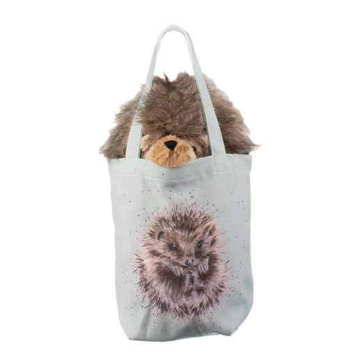 Wrendale 'Mabel' Hedgehog Plush soft toy in a Bag
