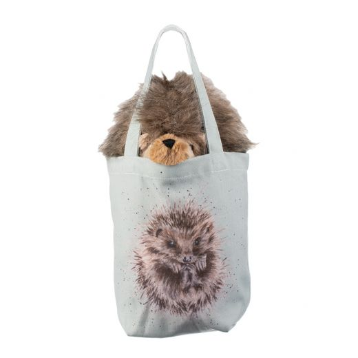 Wrendale 'Mabel' Hedgehog Plush soft toy in a Bag - Gifteasy Online