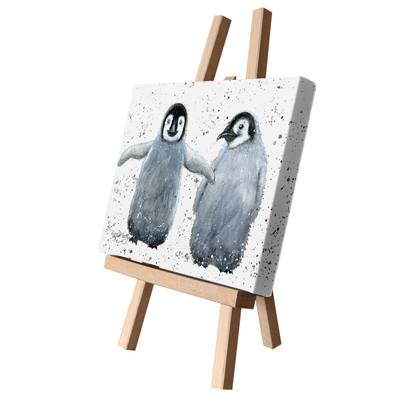 gifteasyonline - Bree Merryn Canvas Cutie Paris and Pacino Penguin - Bree Merryn - Canvas Cuties